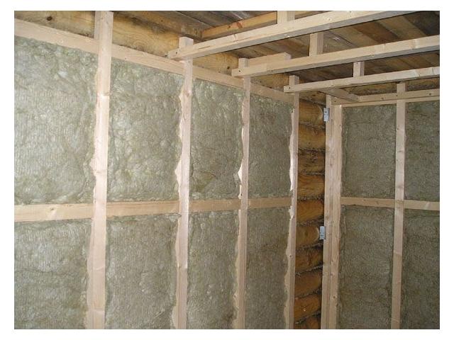 Чем утеплить стены в бане изнутри своими руками