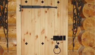 Банная дверь своими руками
