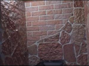 керамическая плитка для бани